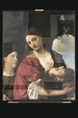 Before/after: werken van grote schilders voor en narestauratie