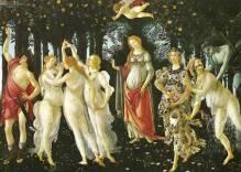 La Primavera (De Lente), Botticelli