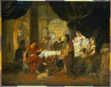 Het feestmaal van Cleopatra, Gerard Lairesse (1680)
