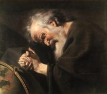 Heraclitos door Johannes Moreelse