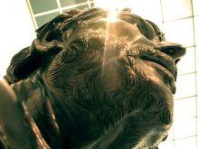 Bronzen beeld van Seneca, Archeologisch Museum Napels.
