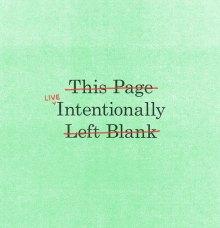 'Live intentionally' door Mikey Burton
