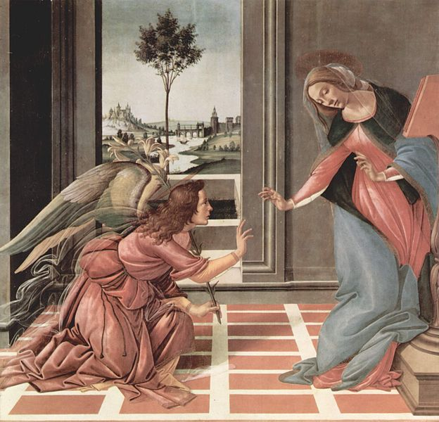 1. Annunciatie 624px-Sandro_Botticelli_080