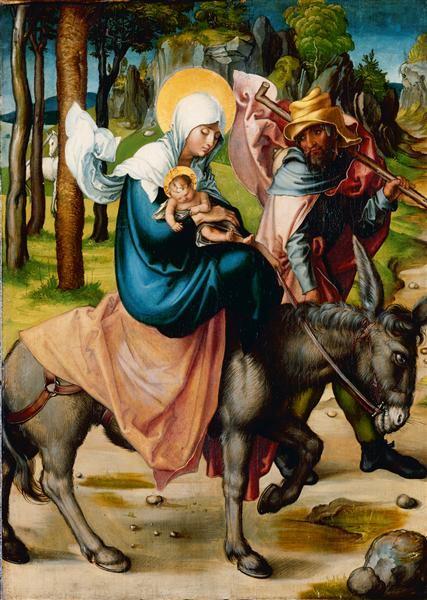 Albrecht Durer, De vlucht naar Egypte, 1495