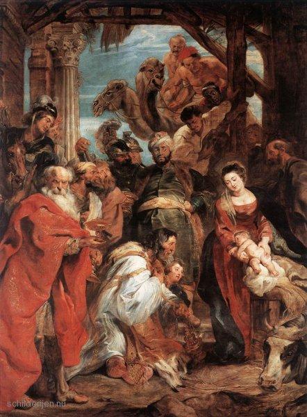 Peter Paul Rubens, De aanbidding der wijzen, 1624
