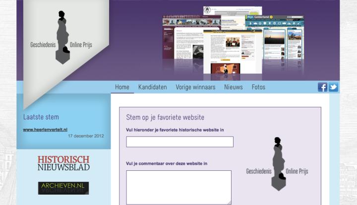 Preview website GOP