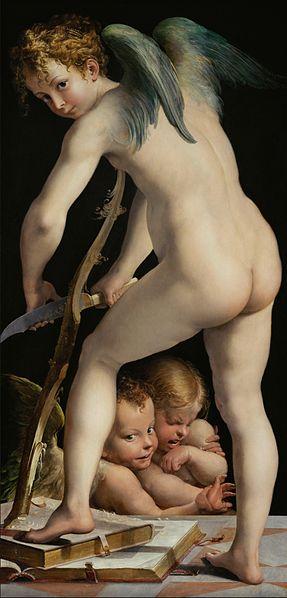 Amor of Cupido, 1533. Kunsthistorisches Museum Gemäldegalerie