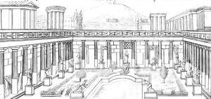 Bibliotheek Herculaneum