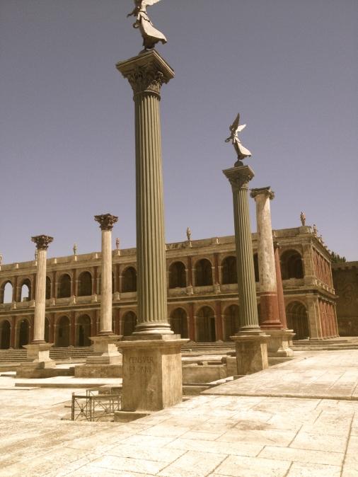 Deel 2 van de set van BBC's Rome