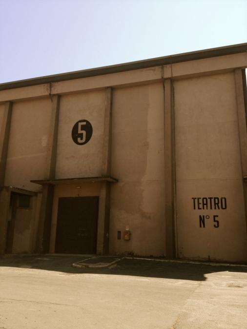 Fellini's filmparadijs: in 'zijn' Studio Cinque maakte Fellini bijna al zijn films