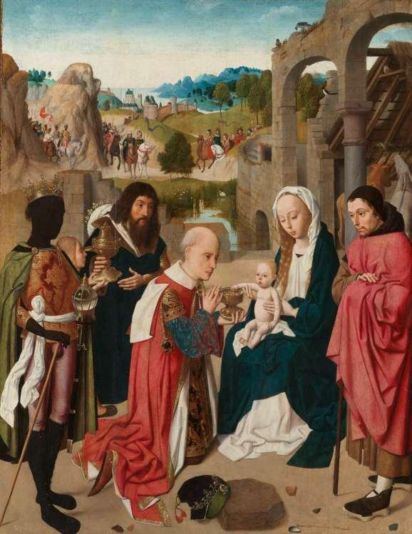 De aanbidding der koningen, Geertgen tot Sint Jans (1480)