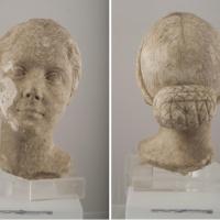Het gezicht van Julia, dochter van Augustus
