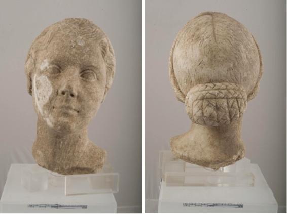 Het gezicht van Julia, dochter vanAugustus