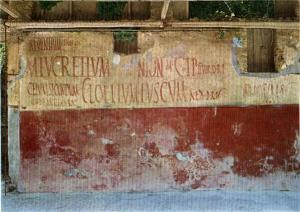Graffiti in Pompeii