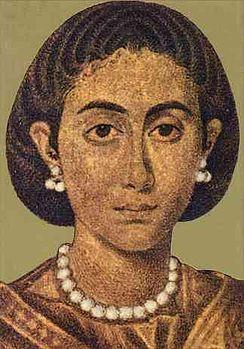Vermeend portret van Galla Placidia