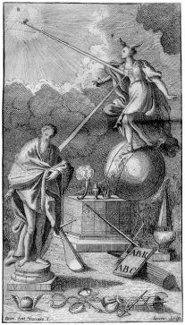 Titelpagina van de 1730 en 1744 edities van Vico's La Scienza Nuova