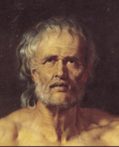 Seneca door Peter Paul Rubens (detail), 1612