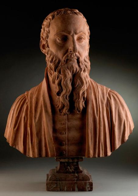 Buste van Michel de Montaigne, Gilles-Lambert Godecharle  (1816-1817).Foto: © artdaily.org