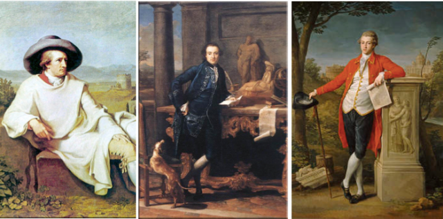 'Grand Touristen': Goethe, Lord Pompeo Batoni en de Baron van Dunstonville