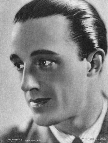Een jonge Vittorio De Sica (jaren 30)