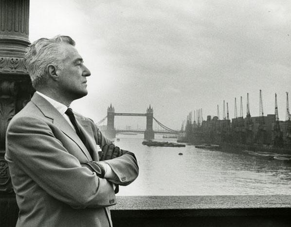 Vittorio De Sica in Londen (jaren 50)