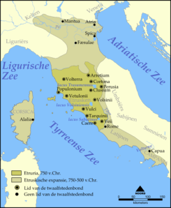 Etrurië (Foto: Wikimedia)