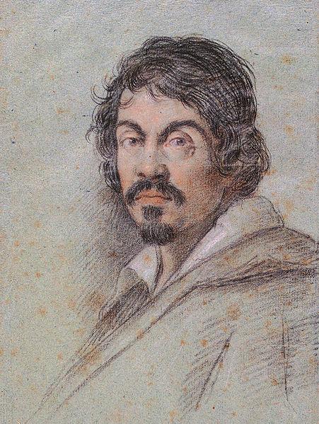 Portret van Caravaggio uit 1621 (ca.)