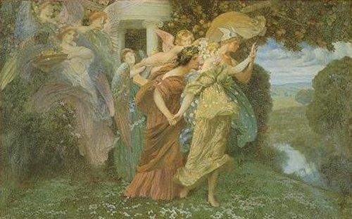 Henry Siddons Mowbray, The Marriage of Persephone (1895)