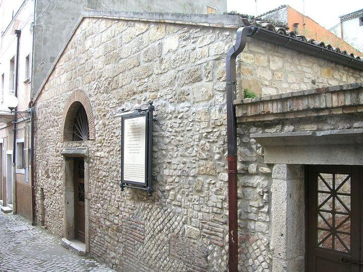 Het 'Huis van Horatius' in Venosa