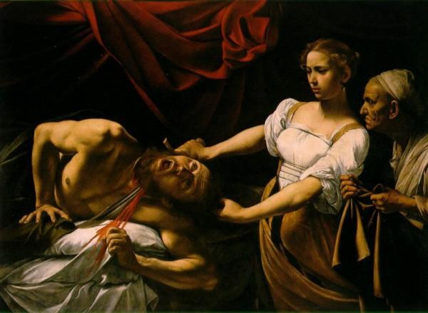 Judith onthoofdt Holofernes, een werk dat Caravaggio rond 1599 in Rome voltooide.