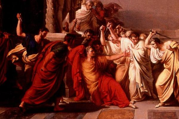 4 x Caesars doodsscène(1953-2007)
