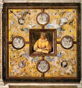Ovidius door Luca Signorelli (1499-1502)