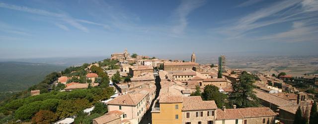 Montalcino, Toscane