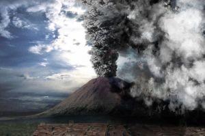 Pompeii-Vulkaan