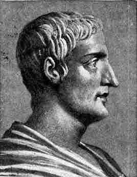 Portret van Tacitus (op basis van een antieke buste)