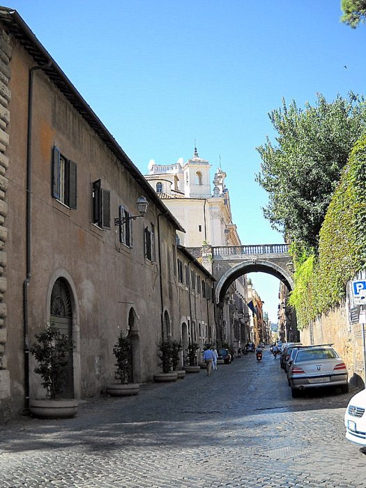 Via Giulia (foto: Wikimedia)