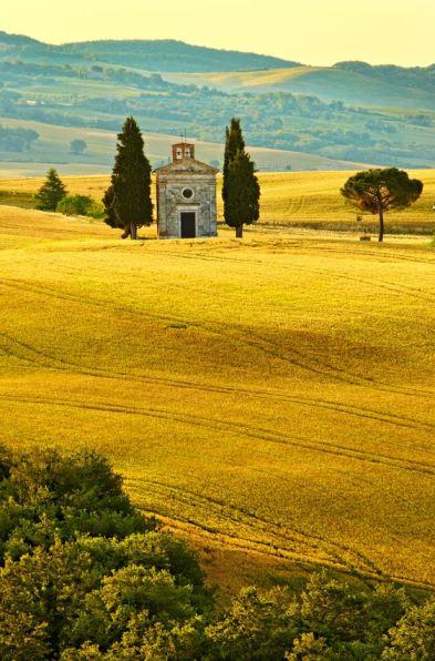 Vitaleta-Toscane