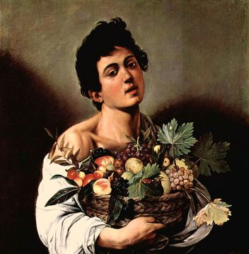 Caravaggio's Jongen met fruitmand in de Galleria Borghese