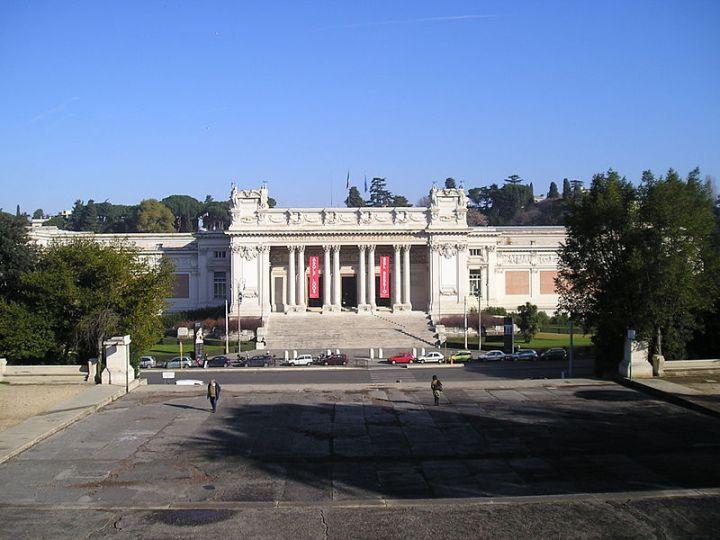 Galleria Nazionale d'Arte Moderna. Foto: Wikimedia