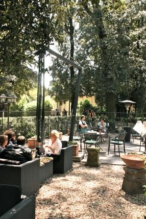 Casina del Lago, terras in de Villa Borghese