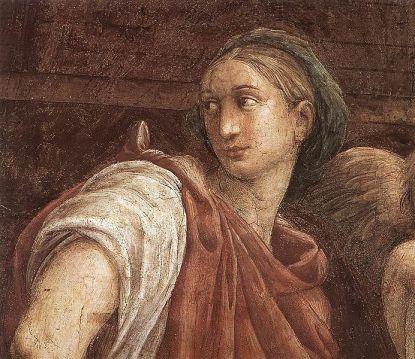 Rafael in de Santa Maria della Pace (detail; foto: Wikimedia)