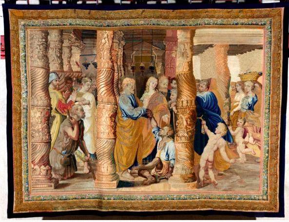 De genezing van een lamme, Rafaël (Foto: Musei di Villa Torlonia)