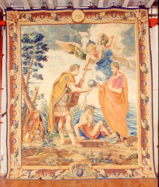 Constantijn en Crispus, Rubens (Foto: Musei di Villa Torlonia)
