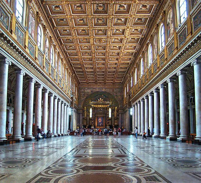 Santa Maria Maggiore: het interieur (foto: Wikimedia)
