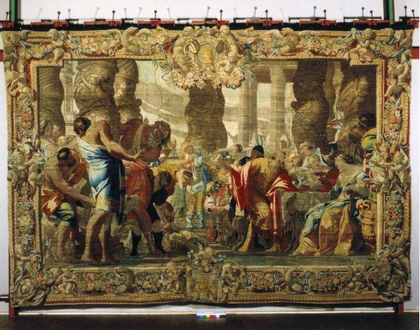 Samson en de Filistijnen, Vouet (Foto: Musei Villa Torlonia)