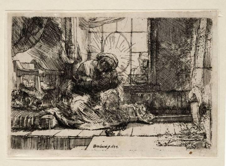 Heilige familie, de keuze van Dieuwertje Blok (foto: Teylers Museum)