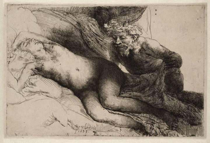 Jupiter en Antiope, de keuze van Jasper Krabbe (foto: Teylers Museum)