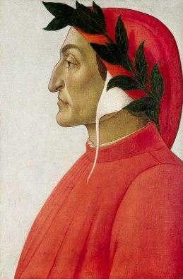 Dante, door Sandro Botticelli (1495). Foto: Wikimedia