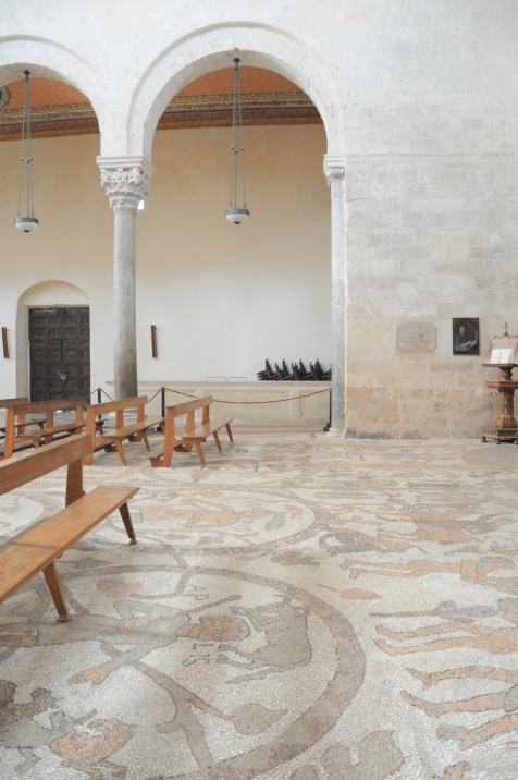 Mozaiekvloer in de kathedraal van Otranto