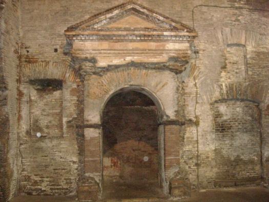 Binnen in het Excubitorium (Foto: Wikimedia)